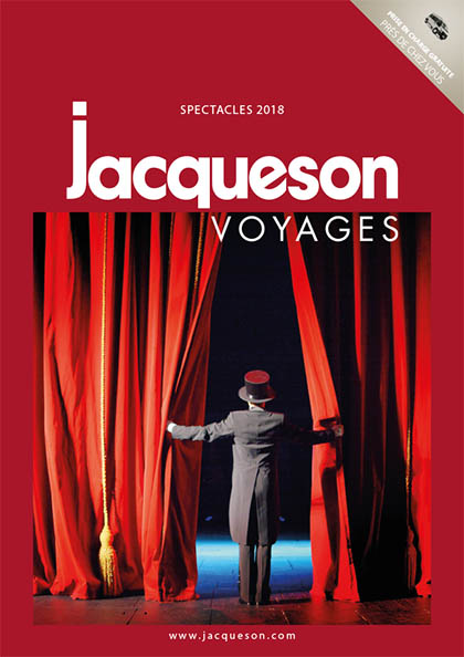Catalogue spectacles 2018 Jacqueson Voyages
