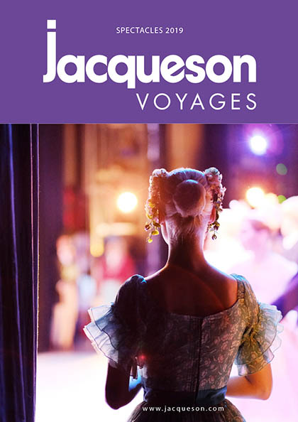 Catalogue spectacles 2019 Jacqueson Voyages
